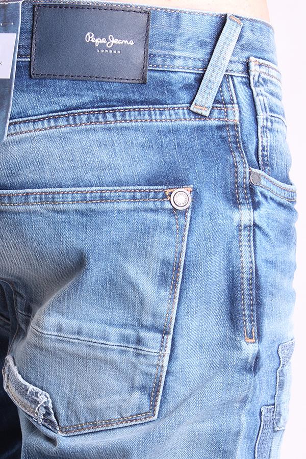 Pepe Jeans Norman 022 Calcetines Para Vaqueros Pantalones Denim Azul Trousers Ebay