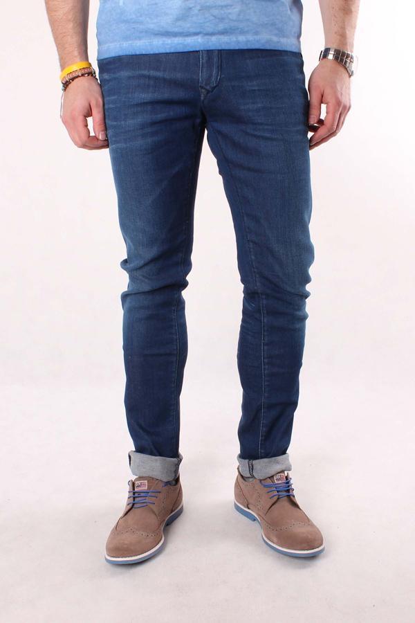 Herren Jeans TOMMY HILFIGER Scanton 732 Blauer Denim
