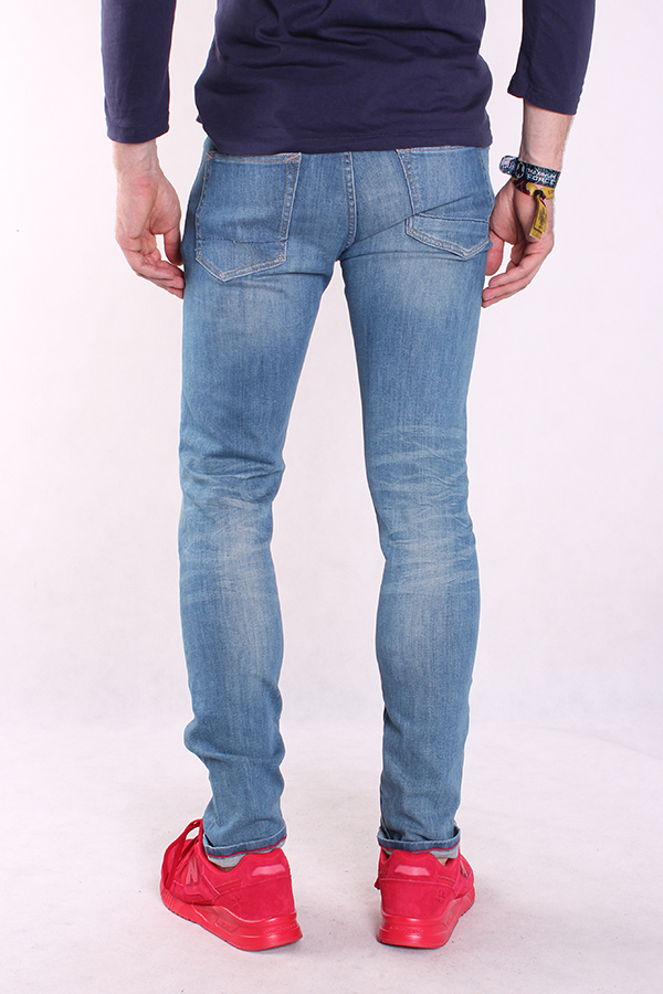 Pepe Men/'s Jeans Trousers Slim Tapered Fit Denim Chino James Ra4 New