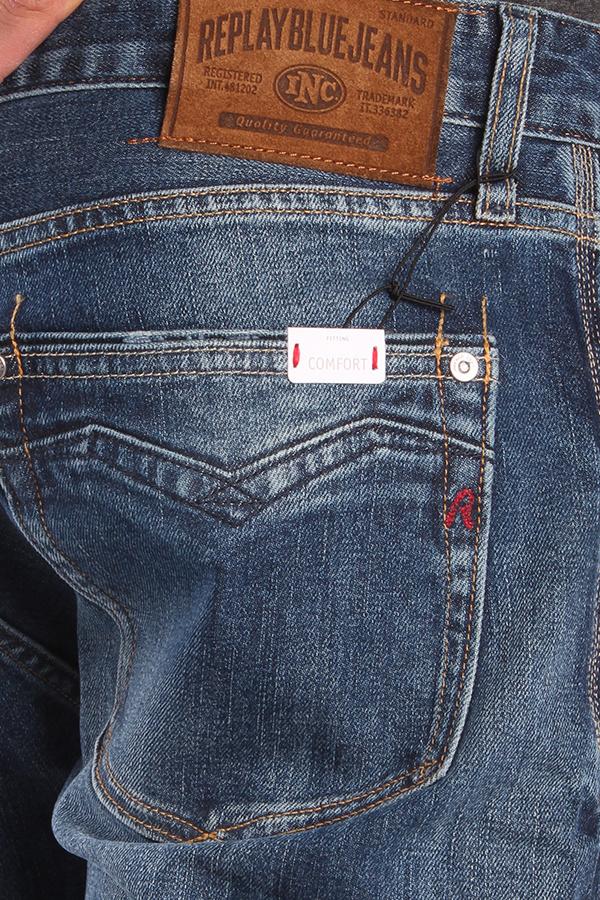 Trousers Replay MA955 93C 140 007 Newbill  Herren Jeans Denim Blau